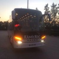 Photo taken at Kamil Koç by Emre A. on 1/10/2014
