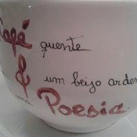 Photo taken at Café & Poesia - MAC by Jonatas R. on 8/30/2013