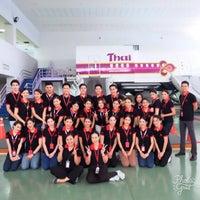 Photo taken at Thai Airways Crew Center Laksi by GA'LOF on 7/26/2017
