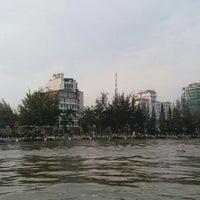 Photo taken at Bến Ninh Kiều by Le Phuong on 2/9/2016
