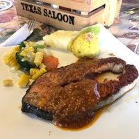 Photo taken at Texas Saloon Steak House by Jniejny K. on 1/1/2017