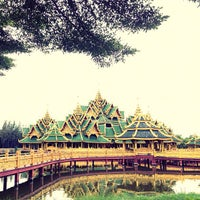 Photo taken at Ancient Siam by Mimi P. on 9/19/2012
