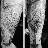 Photo Taken At Black Moon Tattoo By Tamaska M On