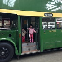 Photo taken at Museum of Transport, Greater Manchester by Kenneth L. on 3/31/2013