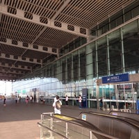 Photo taken at 苏州园区火车站 | Suzhou Industrial Park Railway Stn. by XingXing Z. on 6/30/2013