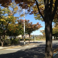 Photo taken at 연천공설운동장 by Kyuchul L. on 10/16/2012