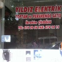 Photo taken at Yıldız Elektrik by Şinasi G. on 5/21/2013