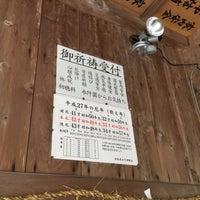 Photo taken at 劔神社 by monchhichi™ on 8/22/2015