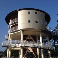 Photo taken at 津波避難タワー by monchhichi™ on 9/28/2014