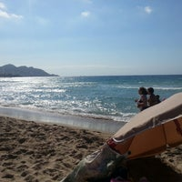 Photo taken at Platja de Ponent by Rodo J. on 6/24/2013