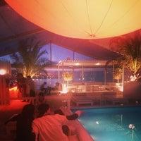 Photo taken at Zona VIP - K Urban Beach by Nilay A. on 5/25/2014