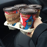 Photo taken at Tim Hortons by Regent B. on 3/22/2014