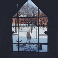 Photo taken at Clark University- Higgins University Center by Demet S. on 1/22/2014