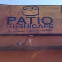 ... Photo Taken At Patio Sushi Cafe By Danielle M. On 4/27/2013 ...