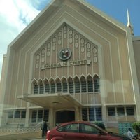 Photo taken at Iglesia Ni Cristo (Lokal ng Bagbaguin Valenzuela) MMN by Raine M. on 2/24/2013