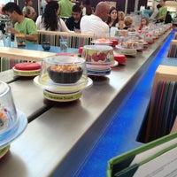 Photo taken at Wasabi Modern Japanese Cuisine by Sharyn L. on 8/3/2013