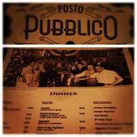 Photo taken at Posto Pubblico by Antony T. on 10/7/2012