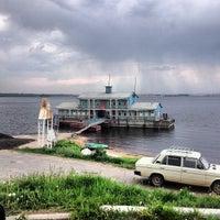 Photo taken at пристань by Alex K. on 6/1/2013