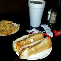 Photo taken at Curtis' Coney Island Famous Weiners by Paula G. on 4/1/2014