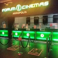 Photo taken at Forum Cinemas Akropolis by Emre B. on 10/8/2012