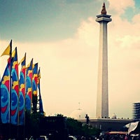 Photo taken at Monumen Nasional (MONAS) by Diego Jose R. on 6/30/2013