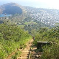 Photo taken at Kokohead rail trail by Jackie C. on 5/23/2013