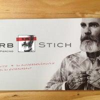 Photo taken at Farbstich Tattoo & Piercing by Tim W. on 6/30/2013