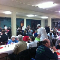 Photo taken at St. Pius V Fish Fry by John Rogers V. on 2/15/2013