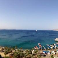 Photo taken at Royal Beach Eilat by Scott L. on 5/28/2013