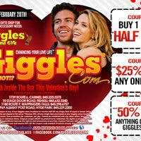 Photo taken at Giggles by Giggles World Stores in New York.... Why Not!? on 1/31/2014