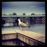 Photo taken at Putney Bridge by Charlie H. on 3/7/2013