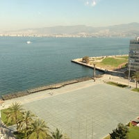 Photo taken at Mövenpick Hotel Izmir by Gürkan K. on 4/25/2013