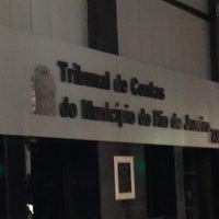 Photo taken at Tribunal de Contas do Municipio do Rio de Janeiro by Alan P. on 6/25/2013