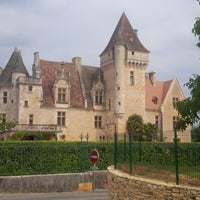 Photo taken at Château des Milandes by Harm-jan W. on 7/26/2013