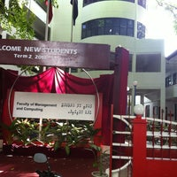 Photo taken at Faculty of Management & Computing (FMC) by Ahmed J. on 6/19/2013