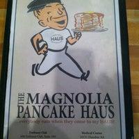 Photo taken at Magnolia Pancake Haus by Spencer D. on 12/1/2012