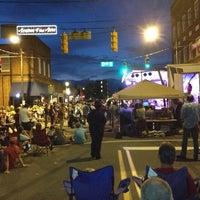 Photo taken at Downtown Arts District by Karen M. on 7/14/2013