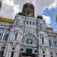 Photo taken at Mirador del Palacio de Cibeles by Jeff S. on 5/19/2018