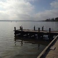 Photo taken at White Rock Lake by Rose I. on 3/1/2014