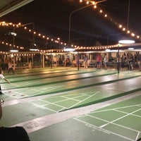 Photo taken at St. Petersburg Shuffleboard Club by Jason K. on 5/18/2013