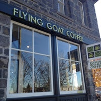 Photo taken at Flying Goat Coffee by Dom D. on 1/2/2013
