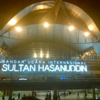 Photo taken at Sultan Hasanuddin International Airport (UPG) by Nita A. on 5/8/2013