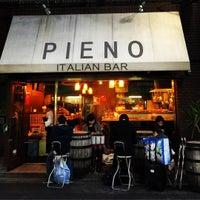Photo taken at Italian Bar PIENO by chuoushibafu on 11/28/2015