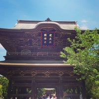 Photo taken at Kenchō-ji by chuoushibafu on 5/12/2013