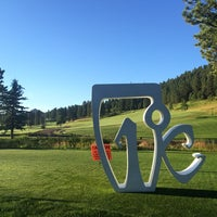 Photo taken at Evergreen Golf Course by Kyle M. on 8/16/2014