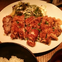 Photo taken at 信州炉端 串の蔵 新宿南口店 by Akane S. on 9/2/2014
