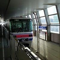 Photo taken at Osaka Monorail Dainichi Station by Bamora N. on 9/22/2014