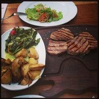 Photo taken at Günaydın Kasap & Steakhouse by Burcu O. on 6/29/2013