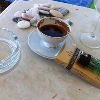 Photo taken at vizyon beach by Melek 😇 on 7/21/2015