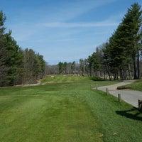 Photo taken at Breakfast Hill Golf Club by Brett C. on 4/18/2016